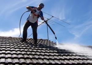 effektiv hustvätt med högtryckstvättar